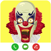 Video Call From Killer Clown icon