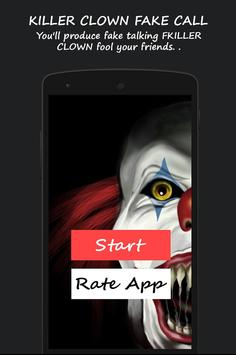 Killer Clown Fake Call poster