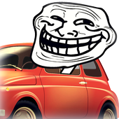 Car Brake Prank Button icon