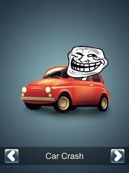 Car Brake Prank Button poster