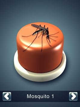 Mosquito Button poster