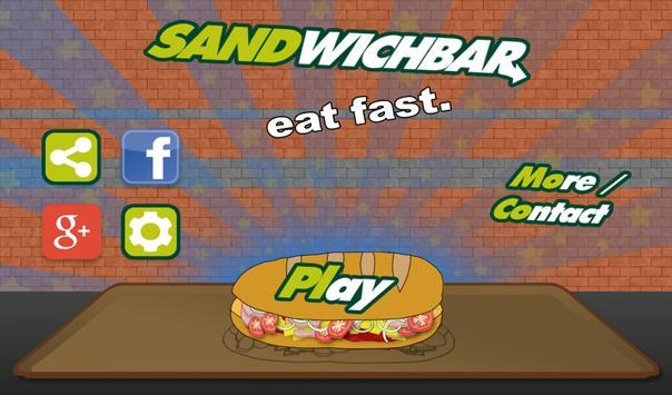 SandwichBar apk screenshot