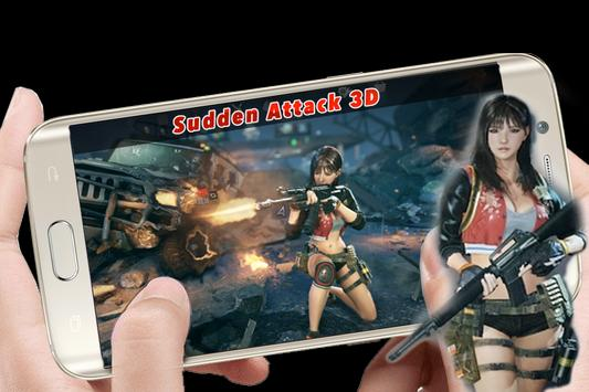Sudden Attack 3D: Hot Game poster