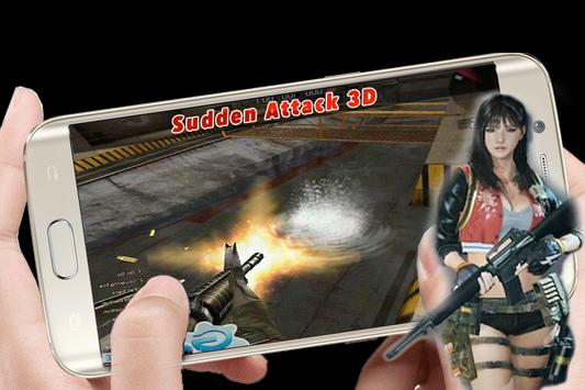 Sudden Attack 3D: Hot Game screenshot 2