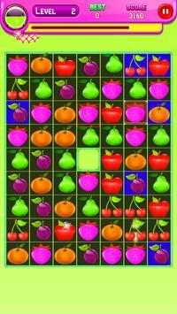 Amazing Fruit Match 3 screenshot 4