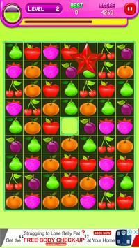 Amazing Fruit Match 3 screenshot 5