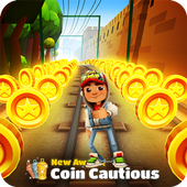 Subway Unlimited: coins & keys icon