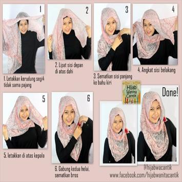 Tutorial Hijab Terbaru screenshot 2