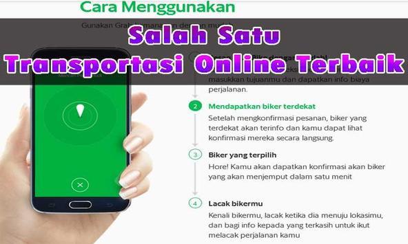 Panduan Order GRAB BIKE screenshot 1