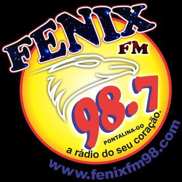 Radio Fenix 98,7 FM-Pontalina poster