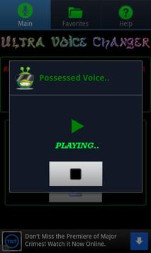 Ultra Voice Changer स्क्रीनशॉट 3