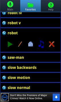 1 Schermata Ultra Voice Changer