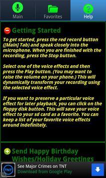 Ultra Voice Changer स्क्रीनशॉट 2
