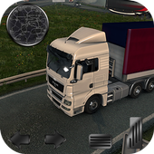 Real Truck Drving Transport Cargo Simulator 3D icon