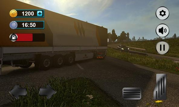 Real Truck Drving Transport Cargo Simulator 3D screenshot 1