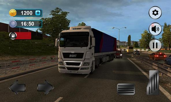 Real Truck Drving Transport Cargo Simulator 3D screenshot 2