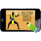 How to Draw Mortal Combat NEW icon