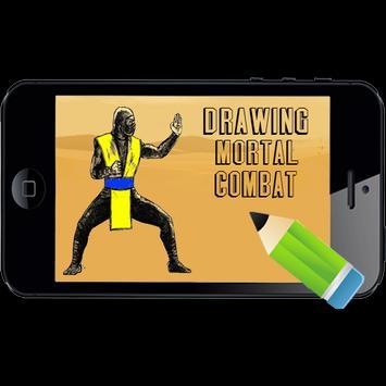 How to Draw Mortal Combat NEW apk screenshot