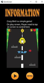Crazy Bird poster