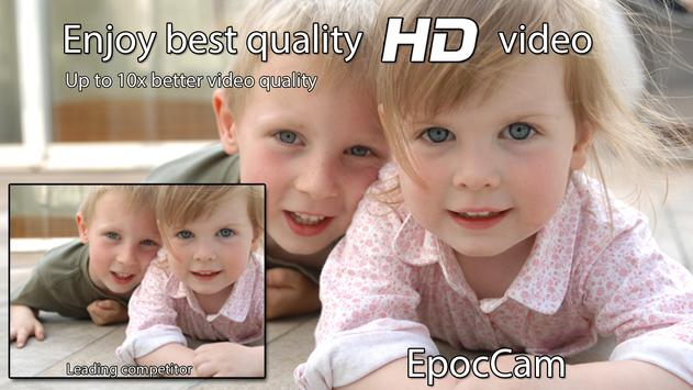 EpocCam - Replace computer USB webcam wirelessly poster