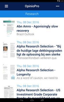 OpinioPro apk screenshot