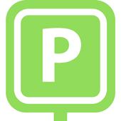 Parken beim Flughafen icon