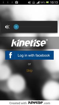 Kinetise poster