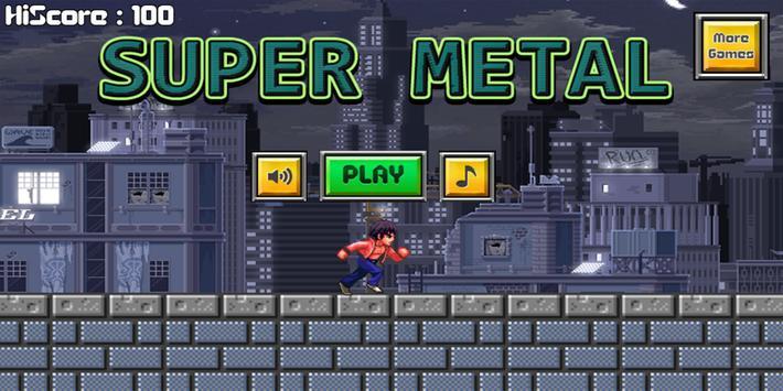Super Metal Run poster