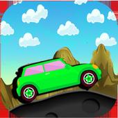 car the adventure icon