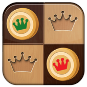 King Checkers icon