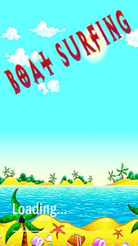 Boat Surfing poster