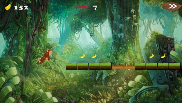 king banana Adventurer runner apk screenshot
