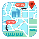 GPS Route Tracker : Running, Cycling & Driving icon