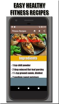 Fitness Recipes apk screenshot