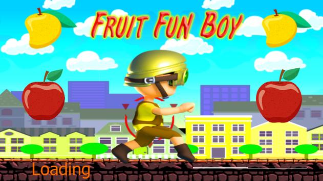 Fruit Fun Boy poster