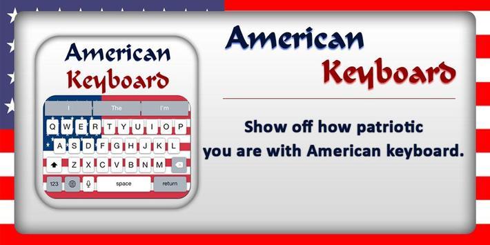 American Keyboard ( USA ) apk screenshot