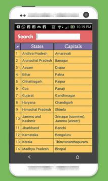 Indian State Capital & MAP screenshot 6