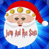 Jump And Run  Santa icon
