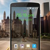 Transparent Lock Screen icon