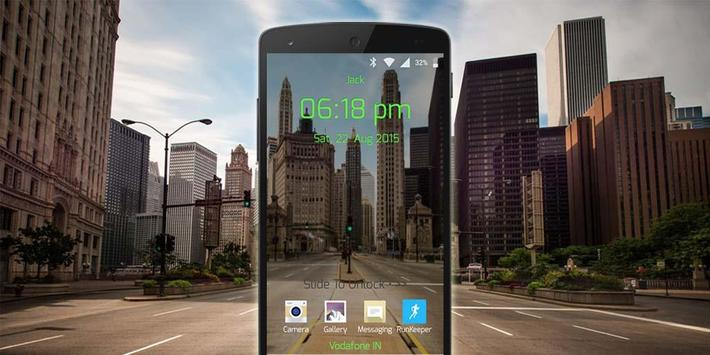 Transparent Lock Screen screenshot 8