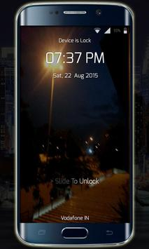 Transparent Lock Screen screenshot 1