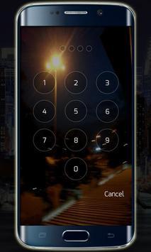 Transparent Lock Screen screenshot 2
