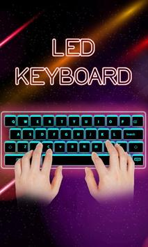 LED Glow Keyboard poster