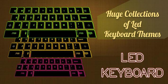 LED Glow Keyboard apk screenshot