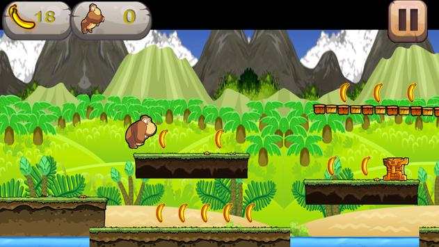 Monkey Runnner apk screenshot