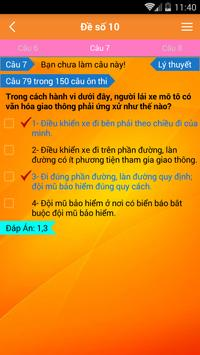 Ly Thuyet Thi Lai Xe A1 A2 screenshot 6