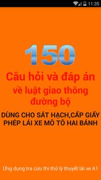 Ly Thuyet Thi Lai Xe A1 A2 poster