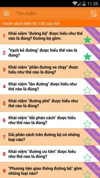Ly Thuyet Thi Lai Xe A1 A2 screenshot 1