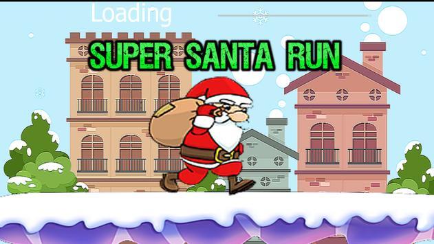 Super Santa Run poster