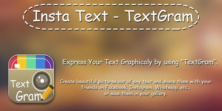 Insta Text - TextGram poster